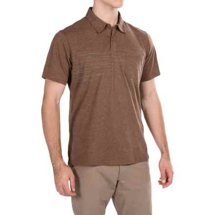 Columbia Sportswear Trail Shaker Omni-Wick® Polo Shirt - Short Sleeve (For Men) in Pony Heather - Closeouts