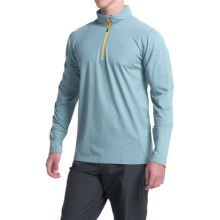 Columbia Sportswear Trail Summit Omni-Heat® Pullover Shirt - Zip Neck, Long Sleeve (For Men) in Steel Heather - Closeouts