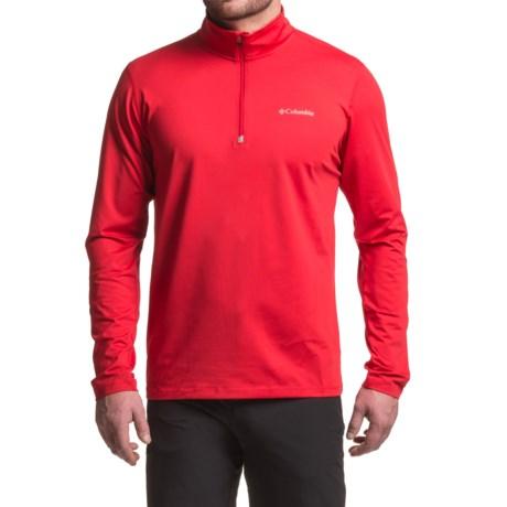 Columbia Sportswear Trail Summit Omni-Heat® Shirt - Zip Neck, Long Sleeve (For Men)