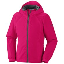 Columbia Sportswear Trail Time II Jacket (For Girls) in Bright Rose - Closeouts