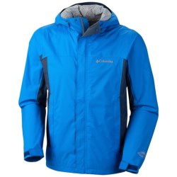 Columbia Sportswear Trail Turner Omni-Tech® Shell Jacket - Waterproof (For Men) in Abyss
