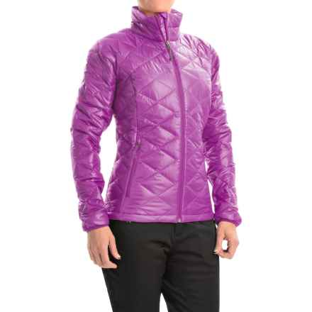 Columbia Sportswear Trask Mountain 650 TurboDown Jacket - 550 Fill Power (For Women) in Bright Plum/Purple Dahlia - Closeouts