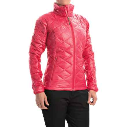 Columbia Sportswear Trask Mountain 650 TurboDown® Jacket - 550 Fill Power (For Women) in Ruby Red - Closeouts