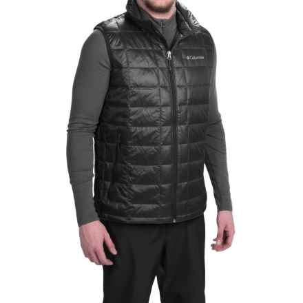 Columbia Sportswear Trask Mountain 650 TurboDown Omni-Heat® Vest - 550 Fill Power (For Men) in Black - Closeouts