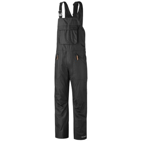 Columbia Sportswear Tree Grinder Omni-Heat® Omni-Tech® Bib Snow Pants - Waterproof (For Men) in Black