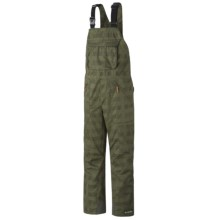 Columbia Sportswear Tree Grinder Omni-Heat® Omni-Tech® Bib Snow Pants - Waterproof (For Men) in Surplus Green Lumberjack Plaid - Closeouts