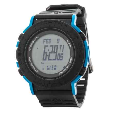 Columbia Sportswear Treeline Sport Watch in Black/Black/Cobalt Blue - Closeouts