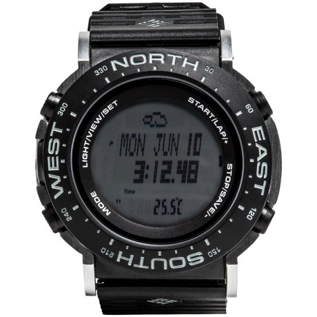 Columbia Sportswear Treeline Sport Watch in Black/Grey