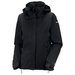 Columbia Sportswear Trek Settin' Jacket - Waterproof (For Women) in Black