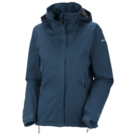 Columbia Sportswear Trek Settin' Jacket - Waterproof (For Women) in Coastal