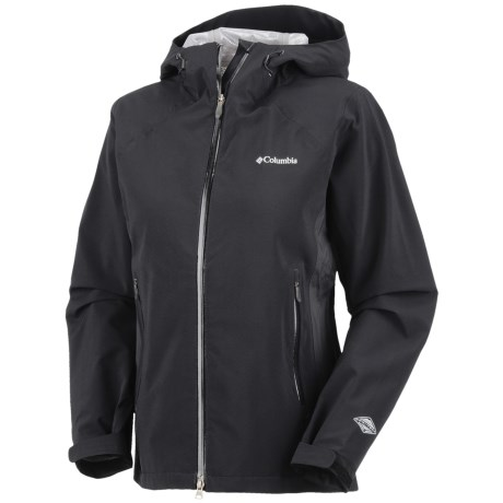 Columbia Sportswear Triple Trail II Omni-Tech® Omni-Heat® Shell Jacket - Waterproof (For Women) in Black
