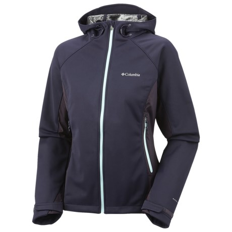 Columbia Sportswear Triteca Omni-Heat® Soft Shell Jacket (For Women) in Ebony Blue