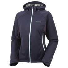 Columbia Sportswear Triteca Omni-Heat® Soft Shell Jacket - Omni-Wind® Block (For Women) in Ebony Blue - Closeouts