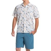Columbia Sportswear Trollers Best PFG Shirt - UPF 50, Short Sleeve (For Men) in Stinger Hawaiian Print - Closeouts