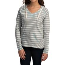 Columbia Sportswear Tropic Haven Stripe Hoodie (For Women) in Earl Grey Stripe - Closeouts