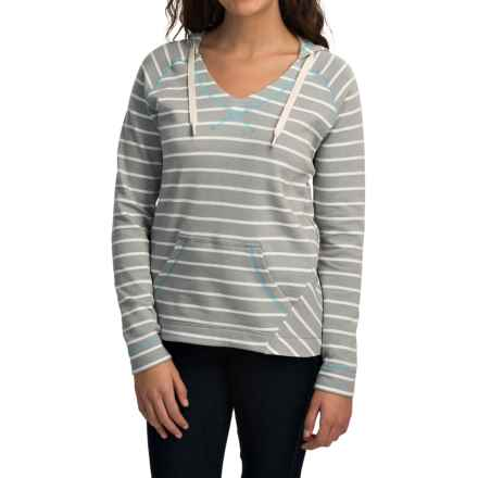 Columbia Sportswear Tropic Haven Stripe Hoodie (For Women) in Earl Grey Stripe - Closeouts