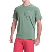 Columbia Sportswear Tuk Mountain Omni-Wick® Shirt - UPF 50+, Short Sleeve (For Men) in Commando Heather - Closeouts