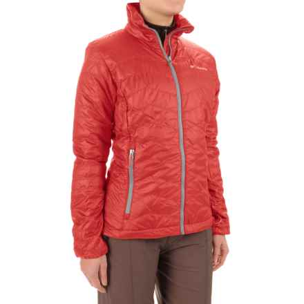 Columbia Sportswear Tumalt Creek Omni-Heat® Jacket - PrimaLoft® (For Women) in Red Camellia/Spray - Closeouts