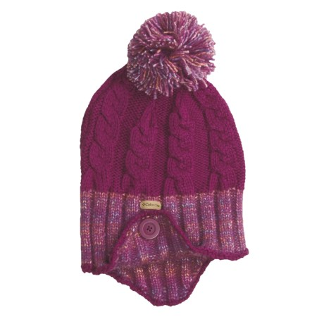 Columbia Sportswear Twilight Ride Beanie Hat - Ear Flaps (For Women) in Tarte