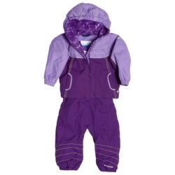 Columbia Sportswear Twinkle Snowsuit Set (For Infant Girls) in Iris Glow/Heliotrope