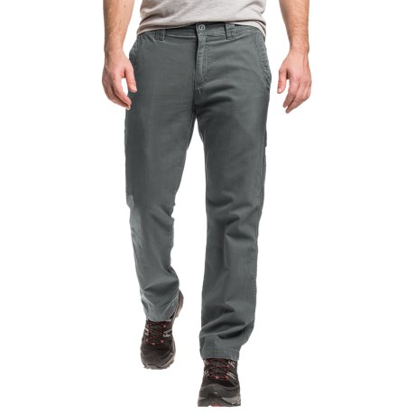 Columbia Mens Ultimate ROC II Pants in Rust or Green