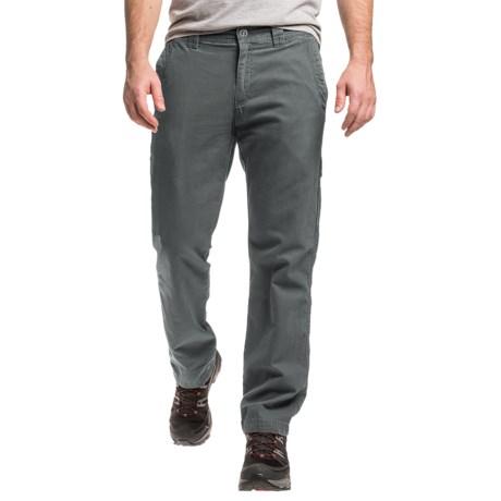 Columbia Mens Ultimate ROC II Pants in Rust or Green