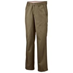 Columbia Sportswear Ultimate ROC Pants (For Men) in Red Rocks