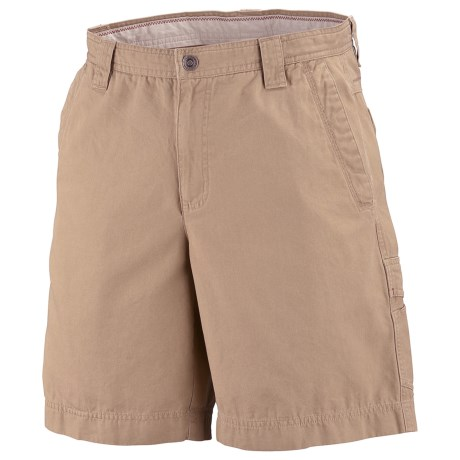 Columbia Sportswear Ultimate Roc Shorts - Sandwashed Canvas, UPF 50 (For Big Men) in Crouton