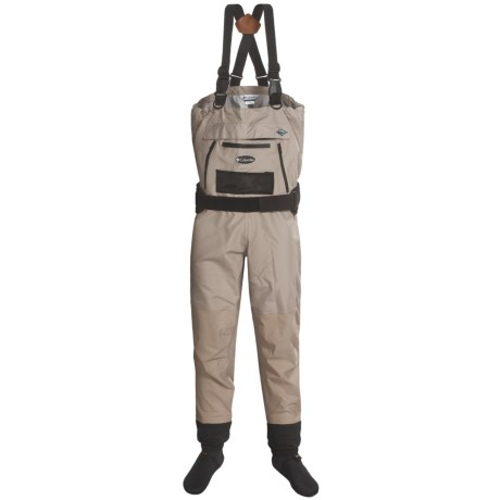 Columbia Sportswear Umpqua Breathable Waders - Stockingfoot (For Men) in Tan