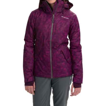 Columbia Sportswear Unparalleled Omni-Heat® Ski Jacket - Waterproof, Insulated (For Women) in Purple Dahlia Lava Print - Closeouts