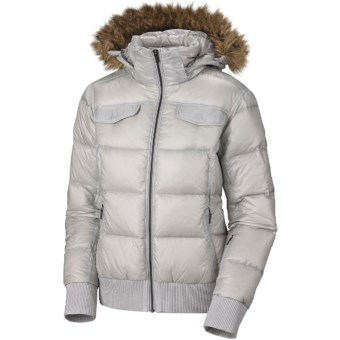 Columbia Sportswear Uptown Voyage Omni-Heat® Down Jacket - 700 Fill Power (For Women) in Oyster