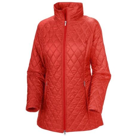 Columbia Sportswear Urbain Heritage Omni-Heat® Jacket - Insulated (For Women) in Cherrybomb
