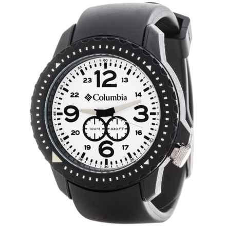 Columbia Sportswear Urbaneer III Watch (For Men) in White/Black - Closeouts