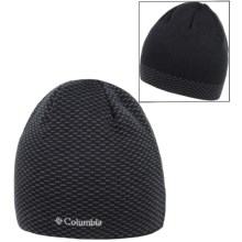 Columbia Sportswear Urbanization Mix Beanie Hat - Reversible (For Men and Women) in Black/Texture - Closeouts