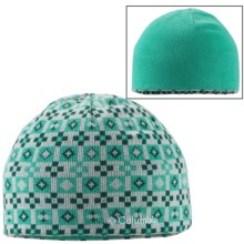 Columbia Sportswear Urbanization Mix Beanie Hat - Reversible (For Men and Women) in Oceanic/Oceanic Solid - Closeouts