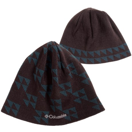 Columbia Sportswear Urbanization Mix Beanie - Reversible (For Men and Women) in Cinder Triangle Fade