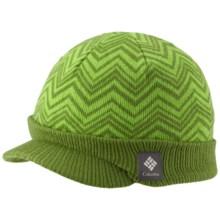Columbia Sportswear Urbanization Visor Beanie Hat (For Men and Women) in Dark Backcountry - Closeouts