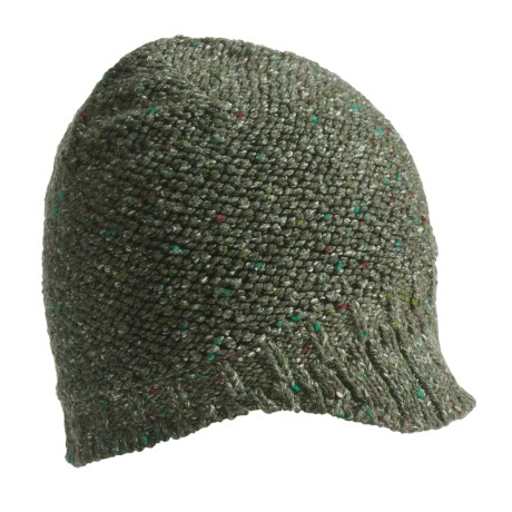 Columbia Sportswear Urbex Visor Beanie Hat (For Women) in Surplus Green/Black