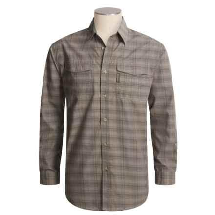 Columbia Sportswear Utilizer II YD Shirt - UPF 30, Long Sleeve (For Men) in Tusk - Closeouts