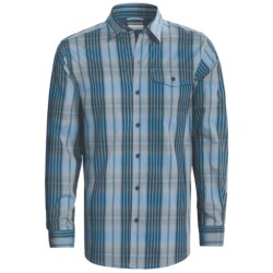 Columbia Sportswear Utilizer Plaid Shirt - Long Roll-Up Sleeve (For Men) in Metal