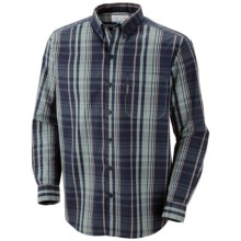 Columbia Sportswear Vapor Ridge II Shirt - Long Sleeve (For Tall Men) in Collegiate Navy - Closeouts