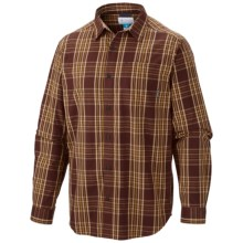 Columbia Sportswear Vapor Ridge III Shirt - Long Sleeve (For Big and Tall Men) in Red Rocks Check - Closeouts