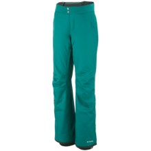 Columbia Sportswear Veloca Vixen Omni-Tech® Omni-Heat® Snow Pants - Waterproof (For Women) in Emerald - Closeouts