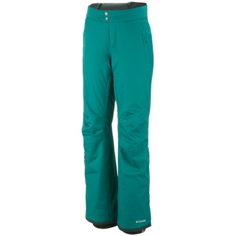Columbia Sportswear Veloca Vixen Omni-Tech® Omni-Heat® Snow Pants - Waterproof (For Women) in Abyss