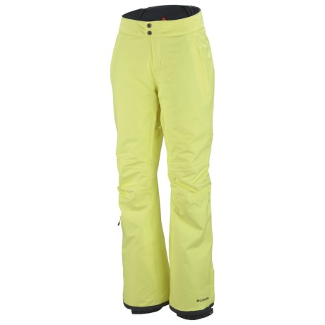 Columbia Sportswear Veloca Vixen Omni-Tech® Omni-Heat® Snow Pants - Waterproof (For Women) in Neon Light