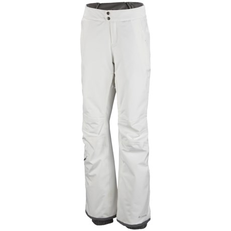 Columbia Sportswear Veloca Vixen Omni-Tech® Omni-Heat® Snow Pants - Waterproof (For Women) in Sea Salt
