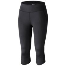 Columbia Sportswear Velocity Capris (For Women) in Black - Closeouts