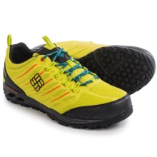 Columbia Sportswear Ventrailia Razor OutDry® Trail Running Shoes - Waterproof (For Men) in Zour/Black - Closeouts