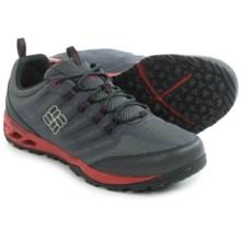 Columbia Sportswear Ventrailia Razor Trail Running Shoes (For Men) in Charcoal/Red Dahlia - Closeouts