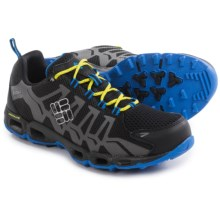Columbia Sportswear Ventrailia Trail Running Shoes (For Men) in Black/Zour - Closeouts